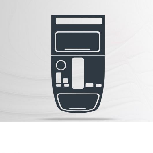 AL TPU インテリア GPS ナビゲーション ダッシュボード スクリーン 傷つき防止 フィルム ギア 保護 ステッカー 適用: トランプチ GS5 2019 タイプ 3 AL-FF-5164