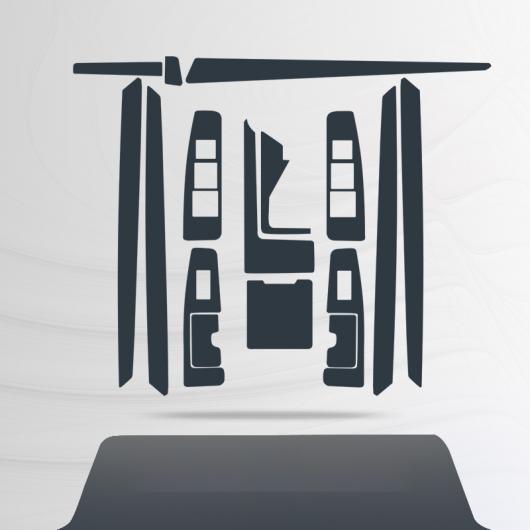 AL TPU ギア GPS ナビゲーション スクリーン 傷つき防止 フィルム 保護 ステッカー 適用: レクサス ES ES300H ES260 ES200 XV60 2015 2016 2017 ES 2 AL-FF-5185