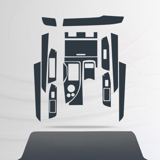 AL TPU セントラル コントロール ギア ダッシュボード フィルム 保護 ステッカー 適用: レクサス GS 2012 2013 2014 2015 2016 タイプ 2 AL-FF-5189