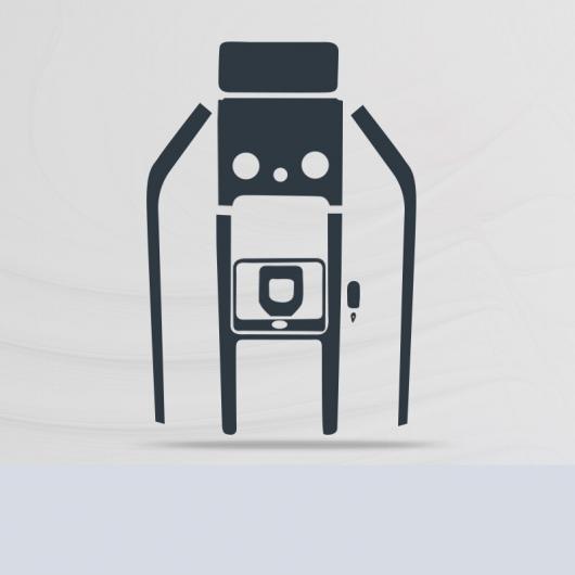 AL TPU セントラル コントロール ギア GPS ナビゲーション スクリーン フィルム 保護 ステッカー 適用: レンジ ローバー イヴォーク 2020 タイプ 2 AL-FF-5191