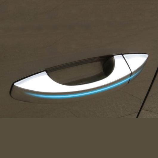 AL ステンレス スチール ドア ハンドル カバー トリム 適用: シュコダ オクタヴィア スペルブ オクタヴィア シルバー~オクタヴィア ブルー AL-FF-5117