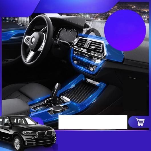 AL TPU トランスペアレント ギア パネル インテリア ダッシュボード フィルム 保護 ステッカー 適用: BMW X3 2018-2020 X3 X4 2・2011-2017 X3 X4 2 AL-FF-5130