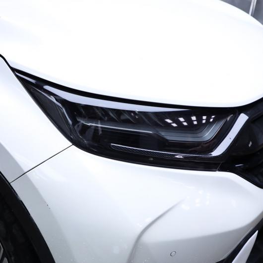 AL TPU トランスペアレント ブラック ヘッドライト フィルム 保護 ステッカー 適用: ホンダ CRV CR-V 2017 2018 2019 2020 5TH 傷つき防止 AL-FF-5228