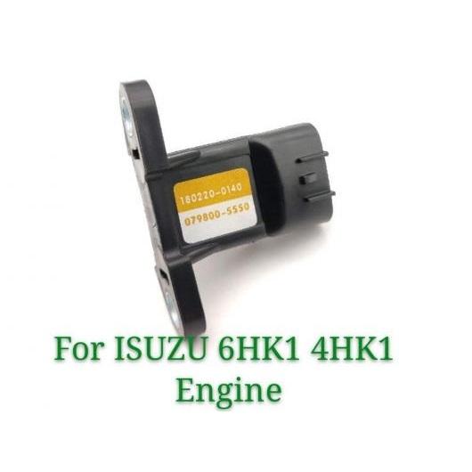 AL マップ マニホールド アブソリュート プレッシャー センサー 180220-0140 079800-5550 1802200140 079800555 適用: イスズ 6HK1 4HK1 J08E E320D AL-FF-5610