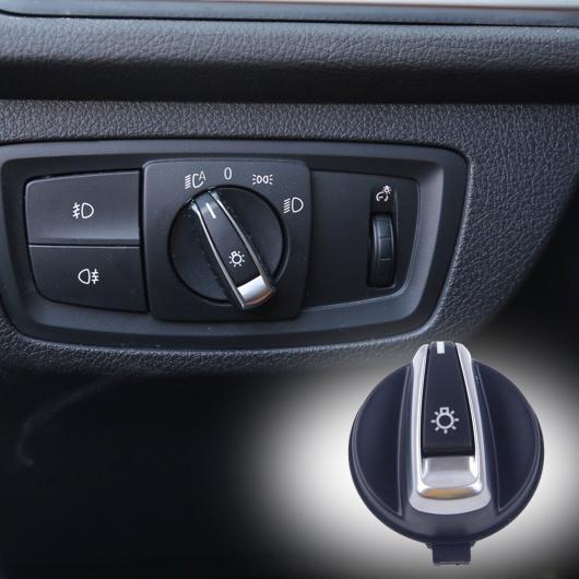 AL クローム メッキ ヘッド ライト スイッチ ボタン 61319169405 適用: BMW 1シリーズ E88 E82/3シリーズ E90 E91 X1 E84 AL-FF-6163