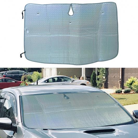 AL 120×90×0.5cm 折り畳み式 フロント フロントガラス ウインドウ UV ブロック ヒート シールド サン シェード 適用: ホンダ シビック MK VIII 2006 2010 2011 AL-FF-6434