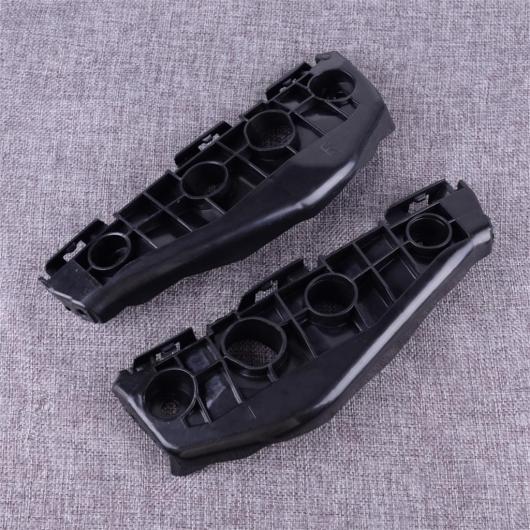 ブラック バンパー 1 AL プラスチック スペーサー フレーム ブラケット 2010 適用: フロント ペア パネル 5211502130 2009 5211602130 AL-FF-6462 トヨタ サポート カローラ