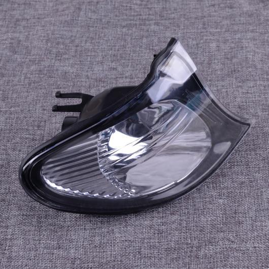 AL プラスチック 右 サイド クリア レンズ ターンシグナル コーナー ライト ランプ 63137165860 適用: BMW 3シリーズ E46 4ドア 2002 2003 2004 2005 AL-FF-6475