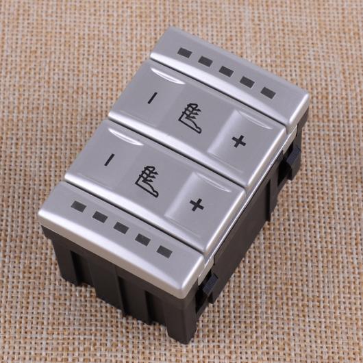 AL カーシート ヒーテッド ボタン 温度コントロール スイッチ プラスチック BS7T19K314AB 適用: フォード モンデオ MK4 ギャラクシー 2007-2010 2011 2012 AL-FF-6495
