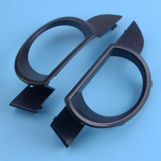 AL 1ペア フロント バンパー フォグライト ランプ グリル カバー トリム 適用: アウディ Q7 2007 2008 2009 4L0807489 4L0807490 AL-FF-7106