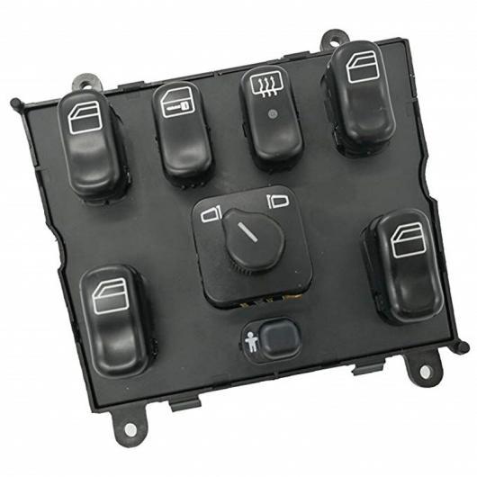 AL パワー ウインドウ スイッチ 1638206610 適用: メルセデス ML W163 ML320 1998-2002 1998 1999 A 1638206610 AL-FF-7711