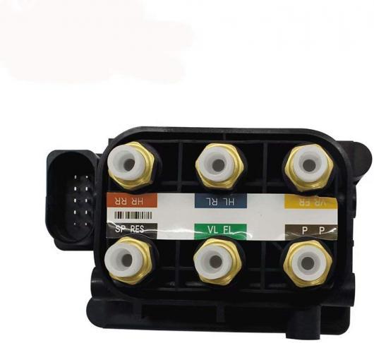 AL エア サスペンション コンプレッサー ソレノイド バルブ ブロック 97035815302 7L0698014 適用: パナメーラ 970 Q7 VW トゥアレグ カイエン 955 AL-FF-7839