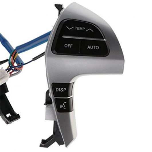 AL ステアリング ホイール オーディオ コントロール スイッチ 842500E220 適用: トヨタ ハイラックス ヴィーゴ ハイランダー AL-FF-8252