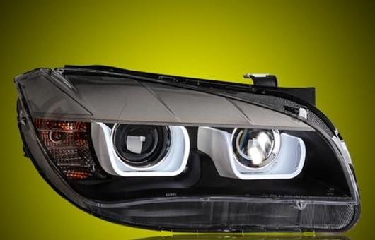 AL ヘッドライト 適用: BMW/ビーエムダブリュー X1 2012-2014 LED ヘッドランプ デイタイムランニングライト DRL バイキセノン HID 4300K~8000K 35W・55W AL-HH-0005