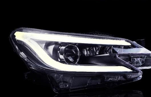 AL ヘッドライト 適用: トヨタ マーク X 2014 LED レイツ/マークX ヘッドランプ デイタイムランニングライト DRL バイキセノン HID 4300K~8000K 35W・55W AL-HH-0011