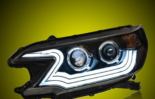 AL ヘッドライト 適用: ホンダ C-RV 2012-2014 LED ヘッドランプ デイタイムランニングライト DRL バイキセノン HID 4300K~8000K 35W・55W AL-HH-0016