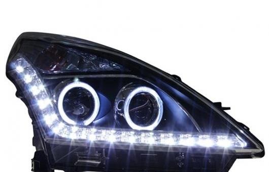 AL ヘッドライト 適用: 日産 ティアナ 2008-11 LED ヘッドランプ デイタイムランニングライト DRL バイキセノン HID 4300K~8000K 35W・55W AL-HH-0094