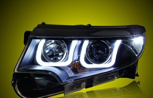 AL ヘッドライト 適用: フォード/FORD エッジ 2012-2014 LED ヘッドランプ デイタイムランニングライト DRL バイキセノン HID 4300K~8000K 35W・55W AL-HH-0105