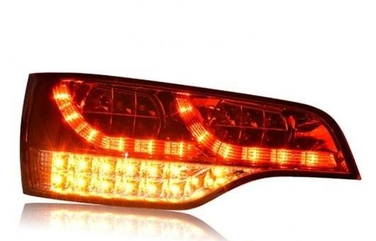 宅配便配送 AL テール ランプ ブレーキ 適用: AL-HH-0114 アウディ/AUDI パーク Q7 テールライト 2006-2009 LED リア ライト DRL + ブレーキ パーク シグナル ストップ レッド AL-HH-0114, KOBEL CLOSET:f594a7d4 --- eurotour.com.py