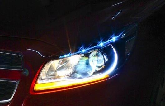 AL ヘッドライト 適用: シボレー/CHEVROLET マリブ 2012-2014 LED ヘッドランプ デイタイムランニングライト DRL バイキセノン HID 4300K~8000K 35W・55W AL-HH-0115