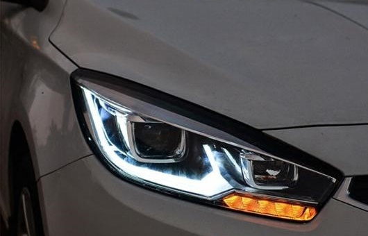 AL ヘッドライト 適用: シボレー/CHEVROLET クルーズ 15-16 LED ヘッドランプ デイタイムランニングライト DRL バイキセノン HID 4300K~8000K 35W・55W AL-HH-0120