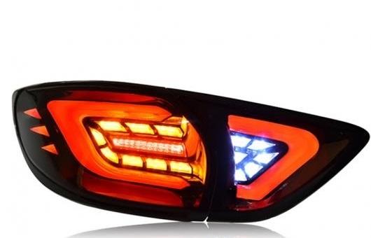 AL テール ランプ 適用: マツダ CX-5 ライト LED リア DRL + ブレーキ パーク シグナル レッド AL-HH-0124