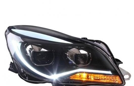 AL ヘッドライト 適用: リーガル 2014-2016 LED ヘッドランプ デイタイムランニングライト DRL バイキセノン HID 4300K~8000K 35W・55W AL-HH-0136
