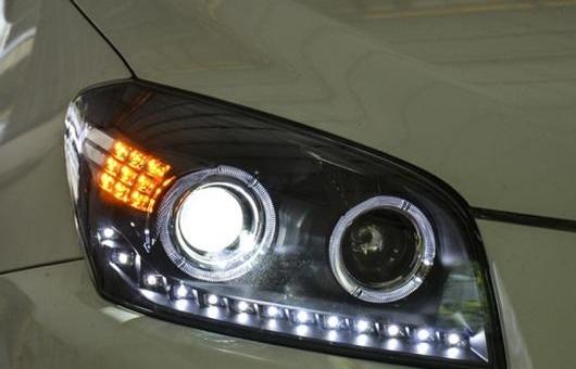 AL ヘッドライト 適用: トヨタ RAV4 2009-2013 LED ヘッドランプ デイタイムランニングライト DRL バイキセノン HID 4300K~8000K 35W・55W AL-HH-0137