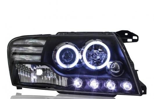 AL ヘッドライト 適用: 三菱 パジェロ 2000-2012 LED ヘッドランプ デイタイムランニングライト DRL バイキセノン HID 4300K~8000K 35W・55W AL-HH-0147
