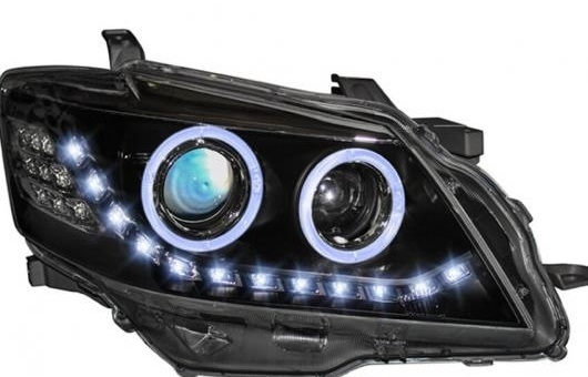 AL ヘッドライト 適用: トヨタ カムリ 2009-11 LED ヘッドランプ デイタイムランニングライト DRL バイキセノン HID 4300K~8000K 35W・55W AL-HH-0164