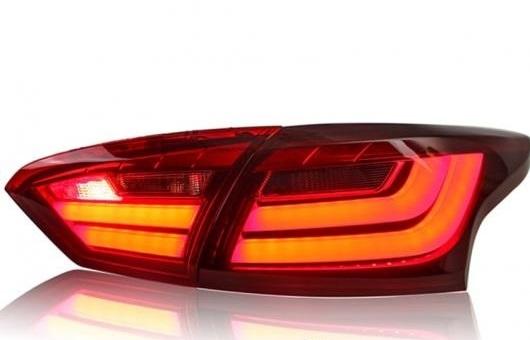 AL テール ランプ 適用: フォード/FORD フォーカス ライト 2012-2013 LED リア DRL + ブレーキ パーク シグナル ストップ レッド AL-HH-0166