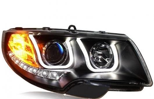 AL ヘッドライト 適用: シュコダ スペルブ 09-13 LED ヘッドランプ デイタイムランニングライト DRL バイキセノン HID 4300K~8000K 35W・55W AL-HH-0187