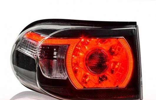 AL テール ランプ 適用: トヨタ FJ クルーザー ライト 2013FJ LED リア DRL + ブレーキ パーク シグナル ストップ レッド AL-HH-0201