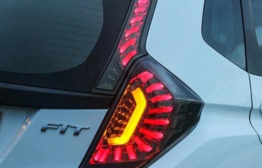 AL テール ランプ 適用: ホンダ フィット ライト 2014 LED リア DRL + ブレーキ パーク シグナル ストップ レッド AL-HH-0204