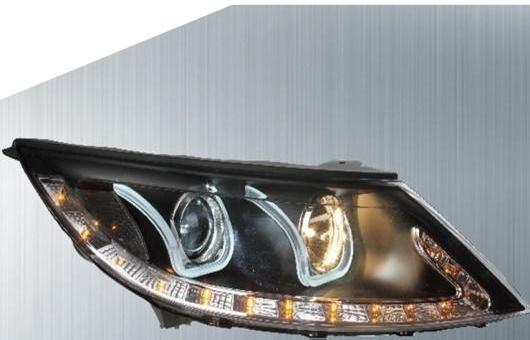 AL 適用: 起亜 スポーテージ ヘッドライト 11-14 LED ヘッドランプ DRL プロジェクター H7 HID バイキセノン レンズ 4300K~8000K 35W・55W AL-HH-0215