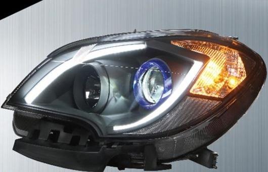AL 適用: アンコール ヘッドライト 2013-2015 LED ヘッドランプ DRL プロジェクター H7 HID バイキセノン レンズ 4300K~8000K 35W・55W AL-HH-0238