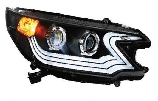 AL 適用: ホンダ C-RV ヘッドライト 2012-2013 LED ヘッドランプ DRL プロジェクター H7 HID バイキセノン レンズ 4300K~8000K 35W・55W AL-HH-0245
