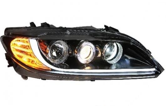 AL 適用: マツダ 6 ヘッドライト 2003-2013 LED ヘッドランプ DRL プロジェクター H7 HID バイキセノン レンズ 4300K~8000K 35W・55W AL-HH-0261
