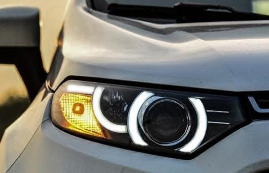AL ヘッドライト 適用: フォード/FORD エコスポーツ 2013-2015 LED ヘッドランプ デイタイムランニングライト バイキセノン HID 4300K~8000K 35W・55W AL-HH-0270