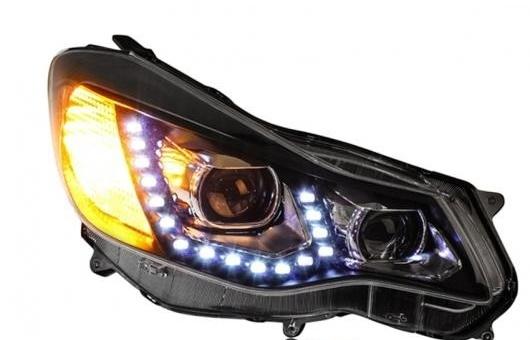 AL ヘッドライト 適用: スバル XV 2012-2015 LED ヘッドランプ デイタイムランニングライト DRL バイキセノン HID 4300K~8000K 35W・55W AL-HH-0290