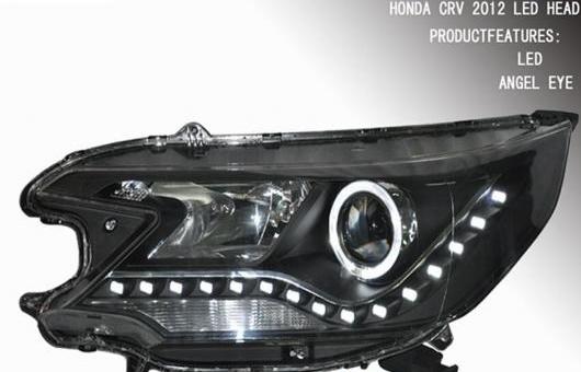 AL ランプ 適用: ホンダ C-RV CRV LED ヘッドライト エンジェル アイ DRL HID キセノン ライト プラグ プレイ 2012 4300K~8000K 35W・55W AL-HH-0299
