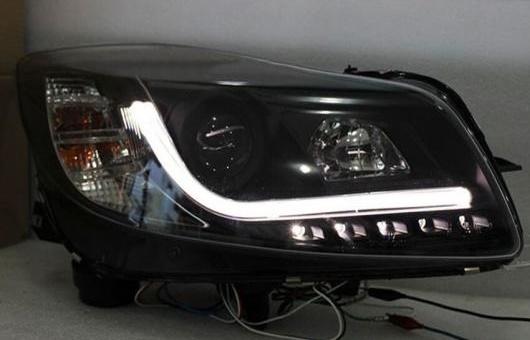AL 適用: リーガル ヘッドライト 2009-2013 LED DRL BI キセノン レンズ ハイ ロー ビーム パーキング HID フォグランプ 4300K~8000K 35W・55W AL-HH-0319