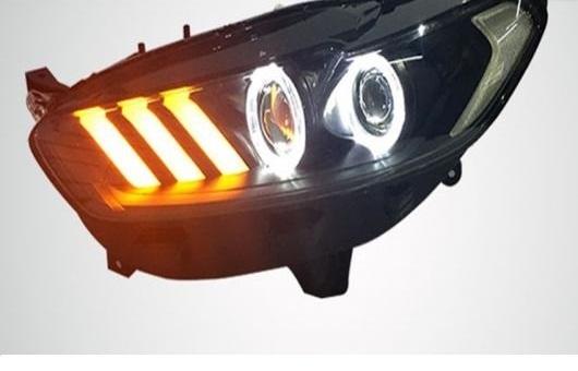 AL 適用: フォード/FORD モンデオ ヘッドライト 2013-2015 LED DRL BI キセノン レンズ ハイ ロー ビーム パーキング HID フォグランプ 4300K~8000K 35W・55W AL-HH-0323