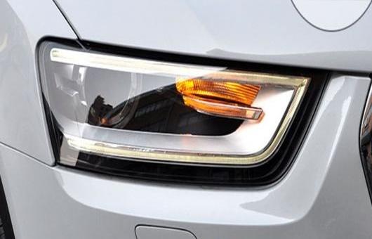 AL 適用: アウディ/AUDI Q3 ヘッドライト 2013-2014 LED DRL レンズ ダブル ビーム H7 HID キセノン BI 4300K~8000K 35W・55W AL-HH-0367