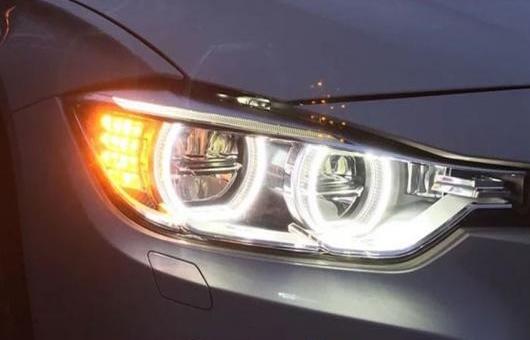 AL 適用: BMW/ビーエムダブリュー 316I 320I 328 335 ヘッドライト 2013-2015 LED DRL レンズ ダブル ビーム H7 HID キセノン BI 4300K~8000K 35W・55W AL-HH-0374