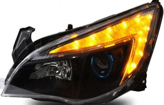 AL 適用: エクセル XT ヘッドライト 2010-2012 LED DRL レンズ ダブル ビーム H7 HID キセノン BI 4300K~8000K 35W・55W AL-HH-0384