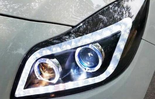 AL 適用: リーガル GS ビュイック リーガル ヘッドライト 2009-11 GS スタイル オペル インシグニア 2014 2015 2016 ヘッドランプ LED DRL フロント ライト 4300K~8000K 35W・55W AL-HH-0405