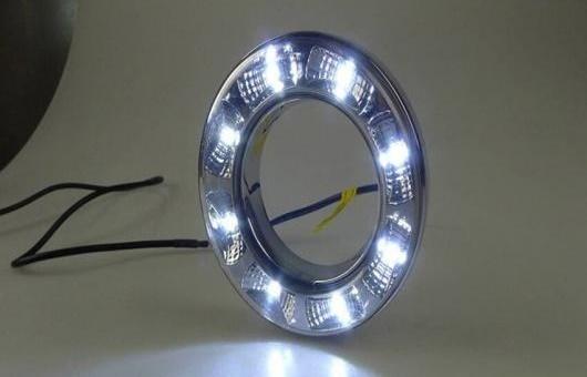 AL 適用: トヨタ RAV4 2012-2013 LED DRL フォグ ランプ デイタイムランニングライト 高光度 ガイド AL-HH-0424