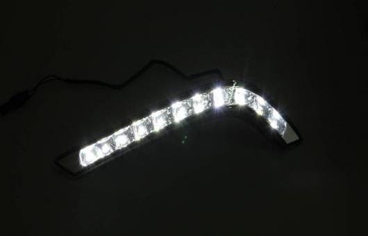 AL 適用: ヒュンダイ/現代/HYUNDAI ソナタ 8 LED DRL フォグ ランプ デイタイムランニングライト 高光度 ガイド A スタイル AL-HH-0427
