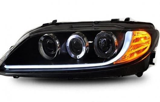AL 適用: マツダ 6 ヘッドライト 2004-2012 LED DRL レンズ ダブル ビーム H7 HID キセノン BI 4300K~8000K 35W・55W AL-HH-0435